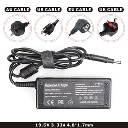 Hp Laptops Chargers Australia - FDBRO Laptop Adapters 19.5V 3.33A 4.8*1.7mm Power Charger Notebook AC Adapter DC Adapter US Standard Computer