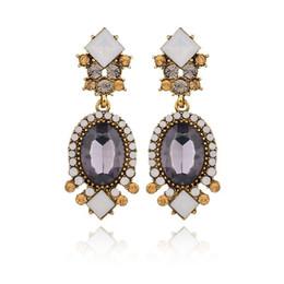 Vintage copper hoop earrings online shopping - The New Listing Nation Wind Vintage Charm European Hoop Earrings Jewelry Retro For Women Bridal Earrings
