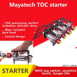engine rc nitro 2019 - mayatech TOC Electric rc Engine Starter for 15cc - 80cc RC Model Gasoline engine Nitro engine Rc airplane Helicopter