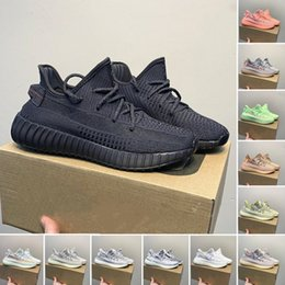 $enCountryForm.capitalKeyWord Australia - 2019 Kanye West 350 v2 designer shoes black static reflective blue light color luxury mens casual shoes Beluga 2.0 womens sports shoes 78914