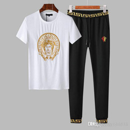 Polo Sport Pants Australia - Autumn men's full zip polo tracksuit men sport suit white cheap men sweatshirt and pant suit hoodie and pant set sweatsuit men #2307