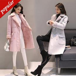 $enCountryForm.capitalKeyWord NZ - Winter Women Thick Warm Faux Lambs Wool Sheepskin Coat Female Long Shearling Coats Faux Suede Leather Jackets S-xxl