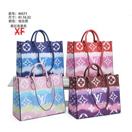 Wholesale #52651 Naverfull 5A+ L Designer Shopping Bag V Fashion Women Shoulder Bag Classic Lady Messenger Handbags Purse Casual Tote Bags with Clutch