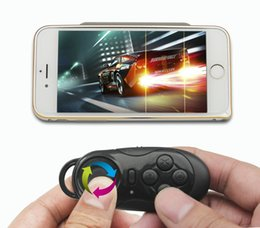 tv box controller UK - Wireless Bluetooth Joystick Gamepad Controller Multifunction Selfie Remote Shutter Wireless Mouse for iPhone Laptop TV Box VR 3D Glasses