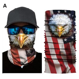 mask for bicycle Australia - 10 Patterns 3D Half Face Mask Cool National Flag Triangular Scarf Binder Sunscreen Fabrics Facial Cover for Bicycle Parade Demonstration