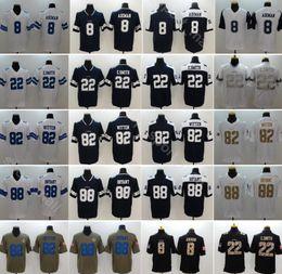 Men Football 88 Dez Bryant Jersey Dallas Cowboys 82 Jason Witten 8 Troy  Aikman 22 Emmitt Smith Vapor Untouchable Blue White Thanksgiving 48ce4b5aa