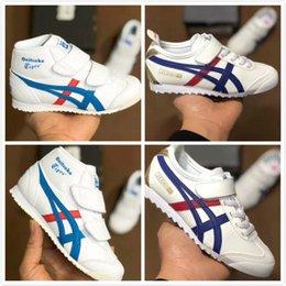 $enCountryForm.capitalKeyWord Australia - 2019 Fashion kids baby OnitsukaTiger Shoes For boys girls children Wholesale good Quality MEXICO 66 Sport Sneakers Shoes Christmas gift