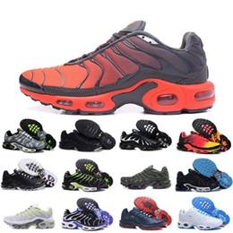 sports shoes 210e1 37f0b Verkäufe Billig 2019 Original Tn Mens Schuhe Neue Schwarz Weiß Rot Air TN  Plus Ultra Sportschuhe Klassische TN Requin Trainer Turnschuhe