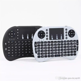 $enCountryForm.capitalKeyWord Australia - Mini Wireless Keyboard Rii i8 2.4GHz Air Mouse Keyboard Remote Control Touchpad For Android Box TV 3D Game Tablet Pc