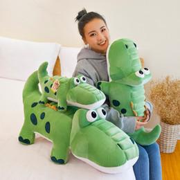 $enCountryForm.capitalKeyWord Australia - Crocodile Plush Toys New Products 50cm Stuffed Animals Dolls Lovely Originality Doll Gifts Simulation Girl Gift Alligator Sinensis 28xh N1