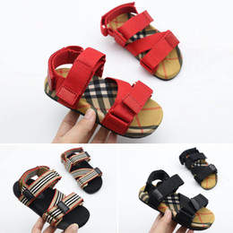 Toddler leaTher sandals boys online shopping - Kids Sandals Kid Designer Shoes Breathable Comfortable Infant Boys Girls Beach Sandal Toddler Shoes Chaussures Pour Enfants