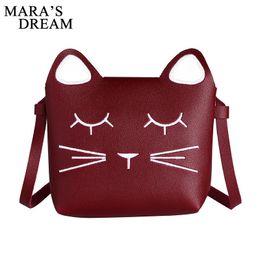 $enCountryForm.capitalKeyWord NZ - Cheap Mara's Dream Children Bags Handbags Girls Cat Pattern Cross Body Shoulder Bag Kids Kawaii Cute Women Christmas Present Gifts
