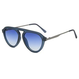 China Unisex Fashion Flat Top Sunglasses Oversized UV400 Eyeglasses Eyewear Sun Glasses for Women Men cheap oversized eyeglasses for women suppliers