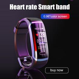 Best smart watches ios online shopping - GT101 Smart watch men Bracelet real time monitor heart rate sleeping best Couple Fitness Tracker pink fit women