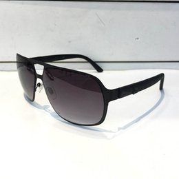 $enCountryForm.capitalKeyWord Australia - Luxury 2253 Sunglasses For Men Design Fashion Sunglasses Wrap Sunglass Pilot Frame Coating Mirror Lens Carbon Fiber Legs Summer Style