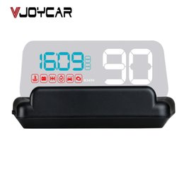 Car Heads Up Display Australia - ead-up Display VJOYCAR C500 New OBD Car Speed Projector Hud Head Up Display Digital Speedometer OBD2 Diagnostic Tool Car Accessories Auto...