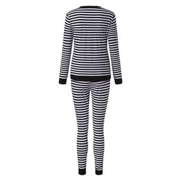 sexy pregnant clothing Canada - TELOTUNY Maternity Nusring pregnancy Pajamas suit pregnant Breastfeeding baby Striped sleep Nightwear Women clothes set ZN19