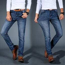 $enCountryForm.capitalKeyWord NZ - Men's Pants jeans New High quality Male jeans Stretch Cotton pants slim Large size men Casual Fashion Clothing