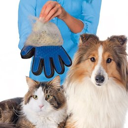 $enCountryForm.capitalKeyWord Australia - Pet Hair Removal Gloves Cats Dogs Cleansing Massage Silicone Bathing Gloves Brush Pet Left Right Hand Hair Removal Brush BH0271 TQQ