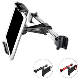Ipad seat mount online shopping - For iPhone iPad Samsung Back Seat Phone Holders Stand Universal Car Rear Seat Cell Mobile Phone Tablet PC Brackets Backseat Mount Car Holder