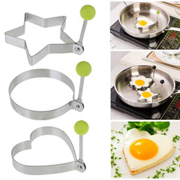 $enCountryForm.capitalKeyWord Australia - 3 Style Stainless Steel Fried Egg Shaper Egg Pancake Ring Mould Mold Kitchen Cooking Tools Stainless Steel Love Round Star Molds