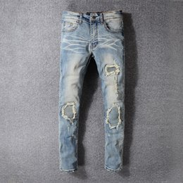 Authentic Models NZ - Summer Authentic New Model Fashion Man Jeans Retro Slim Small Straight Male Trousers