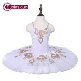 $enCountryForm.capitalKeyWord Australia - Girls Ballet Tutu Dancewear Children Stage Performance Costumes Kids Ballet Dancing Skirt Dance Competition Dresses White