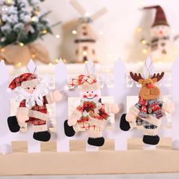 $enCountryForm.capitalKeyWord Australia - Mini Dancing Doll Christmas Decorative Hanging Pendant Drop And Finial Ornaments