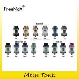 Mesh Fiber Australia - Authentic FreeMax Fireluke Mesh Tank 3ml Metal Resin Carbon Fiber Sub Ohm Atomizers For Original 0.15ohm Head Coils 100% Genuine 2257018