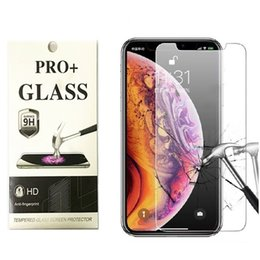 iphone glass screen protector front back Australia - Tempered glass For iPhone 11 Pro max Curved edge Case-friendly front and back Screen protector for iPhone8 Plus 6 6S with retail packaging