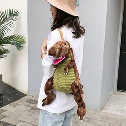 $enCountryForm.capitalKeyWord Australia - Parent-child Dinosaur Bag New Children Backpack Cartoon Big Dinosaur Backpaack school bags for teenage girls back pack bolsa#40