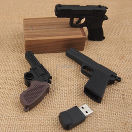 32g Drives Australia - pendrive plastic cool AK47 Gun Shape Submachine gun 4GB roscoe 64GB 8G 16G 32G usb 2.0 flash drive creativo memory Stick Disk