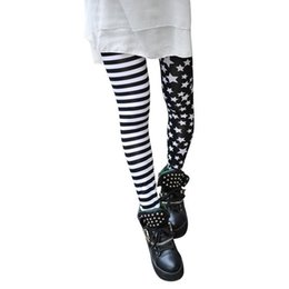 $enCountryForm.capitalKeyWord NZ - New 2019 Fashion Women Ladies Summer Stitching Striped Stars Leggings Trousers Slim Pants good quality Drop Shipping