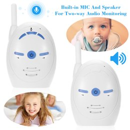 Infant Baby Videos NZ - Wireless Infant Baby Monitor Wifi Video Camera Audio Cry Voice Monitoring Crying Alarm Two Way Talk Home Security System