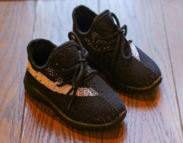 Hot Desinger Kids V2 Running Shoes Children Outdoor Sneakers Boy & Girl Trainer Baby Shoes Sports Toddler Calzado para niños White Volt