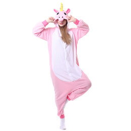 $enCountryForm.capitalKeyWord UK - Wholesale nimal Costume Cosplay OnesieUnisex Adult Unicorn Pajamas, Nousion Cosplay Christmas Unicorn Sleepwear Onesies Outfit For Men Women