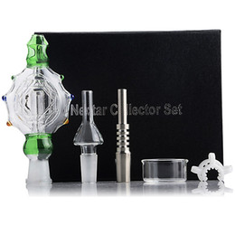 $enCountryForm.capitalKeyWord Australia - New Design Nectar Collector Set Kit Dabbing Rig Concentrate Pipe Glass Pipe Water Glass Bongs