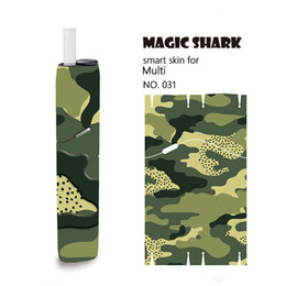 Discount stereo cans - Magicshark protective film my tool IQOS 3 Multi STICKER 2.5D stereo film 3M adhesive IQOS Multi printing stickers can ac