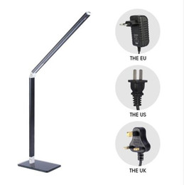White Folding Tables Australia - 48 LED Table Desk Lamp Energy Saving Folding Rechargeable Office Table Lamp Student Reading Lamps Study Lamp Fashion Lights