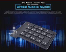 $enCountryForm.capitalKeyWord NZ - 2019 new 2.4G Wireless Keyboard USB Numeric Keypad 18Keys Mini Digital Keyboard Ultra Slim Number Pad High Quality For Compute PC Laptop