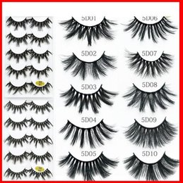 $enCountryForm.capitalKeyWord Australia - 20mm 5D Fiber False Eyelashes Five Pairs Fashion Long Black Eyelashes 10 Models for Different Occasion Handmade 2020 Newest Women's Makeup