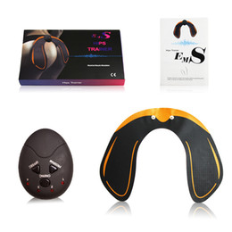 Ems packagEs online shopping - EMS Hip Trainer Muscle Stimulator ABS Buttock Tighter Lifter Massager Electric Vibration Muscle Stimulator Relaxtion Machine Box Package