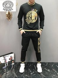 Best tracksuit man online shopping - Autumn And Winter Men Tracksuit Original Design And Best Quality Sweaters And Pants Outdoors Sportswear Gh8859FH
