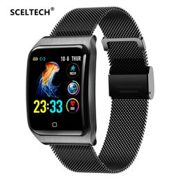 $enCountryForm.capitalKeyWord UK - SCELTECH F9 Metal Smart Watch Men IP68 Waterproof Heart Rate Blood Pressure Sleep Monitor Health Smartwatch For Android iOS