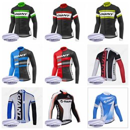 518bfb65e Jerseys New Models Australia - GIANT 2019 New Cycling Winter Thermal Fleece jersey  MTB Wear bike