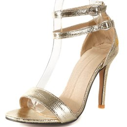 Shoes Flat Fine Australia - Hot2019 Women's Will Shoes 41-43 Foot And Wrist Buckle Bring Super High One Font Fine With Sandals For Many Years Living 581-20