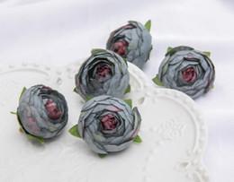 $enCountryForm.capitalKeyWord Australia - Simulated Camellia Bud European Retro-leaf Rose Bud Printing Autumn Camellia Head Marriage Chest WL264
