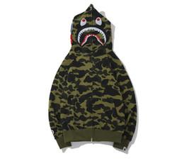 $enCountryForm.capitalKeyWord Australia - Mens Female Sportwear Coat Jogger Tracksuit Patchwork Fleece Sweatshirt Crewneck Winter Drake Red Hip Hop Zipper Hoodie Men Shark mouth
