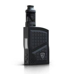 Atomizer Pro Tank Kits UK - Original VGOD Pro 200 Box Mod Kit Vaporizer 200w 3ml VGOD Sub ohm tank Atomizer Electronic Cigarettes 0.2ohm Coil Vape