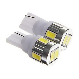 Acura Autos Australia - T10 6SMD 5630 LED 194 168 W5W Car Auto Wedge Lights White Blue Red Green 12V